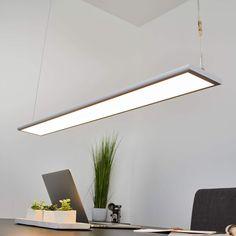 LED-Hängeleuchte Rieke Glas Pendellampe LEDs Spirale Lampenwelt Pendelleuchte