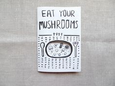 'EAT YOUR MUSHROOM' zine.Please drop me a message if you wish to purchase this zine.I'm open to zine swap as well.