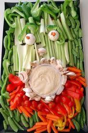Tiki Veggie plate