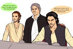 OP: twitter doodles if kyle ron wasn't force-sensitive | Star Wars: The Force Awakens