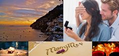 Romantic Marriage Proposal on Board.  Surprise her woth an unexpective gesture. Rent a private yacht with a candlelite dinner and make your proposal in front of Positano!  Web Site: www.amalfisails.com E-Mail: info@amalfisails.it