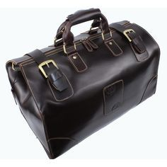 Men's Vintage Leather Travel Bag / Tote / Luggage / Duffle Bag