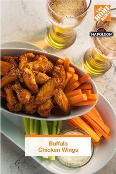 Check out our recipe for the rotisserie-style Buffalo wings of your dreams. A simple set of ingredients and a Napoleon grill are all you need to start cooking on another level. Learn more about this and other recipes for your next meal. Fried Chicken Recipes, Meat Recipes, Appetizer Recipes, Dinner Recipes, Cooking Recipes, Healthy Recipes, Dinner Menu, Recipies, Appetizers