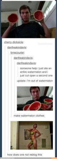 How Can You Eat 2 Watermelons In 1 Sitting?