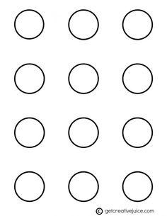 Sizzling image throughout printable macaron template