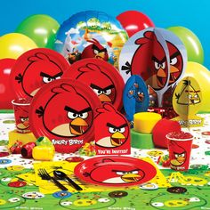 ANGRY BIRDS DELUXE PARTY PACK