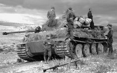a Tiger Tank of the 501st Heavy Tank Battalion in Tunisia North Africa December 1942.