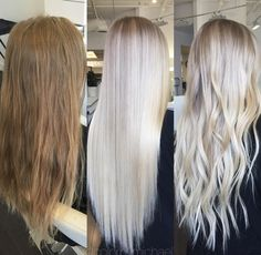 (notitle) The post appeared first on Frisuren Tips - Hair Color Ideas White Blonde Hair, Blonde Hair Shades, Blonde Hair Looks, Platinum Blonde Hair, Grunge Hair, Hair Highlights, Gorgeous Hair, Beautiful, Balayage Hair