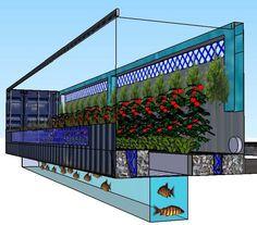 inground fish tank aquaponics - Recherche Google