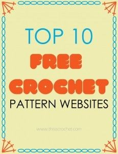 Top 10 Free Crochet Pattern Websites