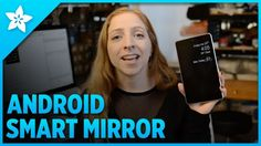 The idea of a smart mirror seems like some crazy thing from the future, but over on Adafruit, they show off a really easy way to build your own with an old Android device and a two-way mirror.