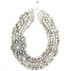 Dolled Up Darling necklace by Elva Fields #elvafields