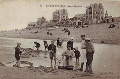 Nens amb vaixell de joguina. ca. 1900. Autor desconegut . MMB (Col. M. Mayolas) Seaside, Pond, Taj Mahal, Louvre, Explore, Travel, Painting, Author, The Beach