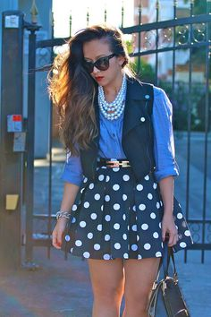 how to wear skater skirts