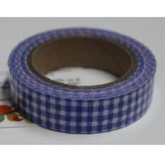 Buy Dark blue and white checks decorative tape/Adhesive for any use by undefined, on Paytm, Price: Rs.125?utm_medium=pintrest