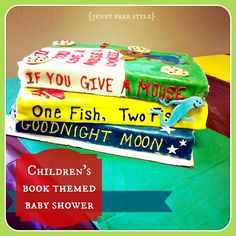 {Jenny Free Style}: Children's Book Themed Baby Shower