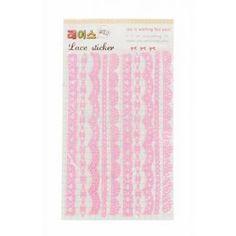 DIY Lace decorative stickers (model 4) - Kawaii Stickers - Stationery | Blippo.com - Japan & Kawaii Shop