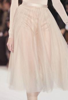sheer skirt / Frou Frou Fashionista Luxury Lingerie Tumblr