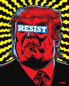 20 new ideas pop art poster truths Protest Posters, Political Posters, Political Art, Political Cartoons, Political Images, Sagmeister And Walsh, Stefan Sagmeister, Metal Memes, Plakat Design