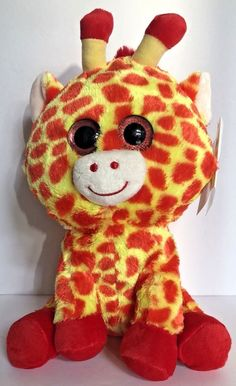 "Beanie Boo Justice Exclusive Darci The Giraffe 12"" Plush Stuffed Animal.  Toys For GirlsGifts ... 578bb4ca9a15"