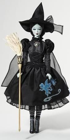 Wicked Witch Barbie Doll