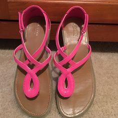 Over 50% Off Original Price! Hot Pink Sandals