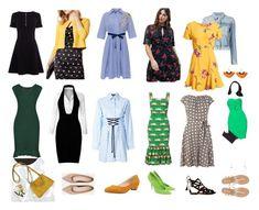 """Olga #4"" by olgalisstyle on Polyvore featuring мода, Karen Millen, 3x1, Lush, LE3NO, Dorothy Perkins, Dolce&Gabbana, Versus, Fashion Union и SEVENTY"