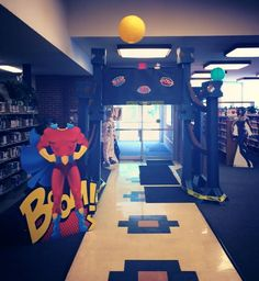 Library decorations!