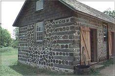 Экодома, дома из дров, из глиночурки