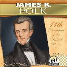 James K. Polk increased the size of the United States more than any other president through the acquisition of California and New Mexico as a result of the Mexican-American War. All Us Presidents, American Presidents, James K Polk, Moving To Tennessee, Land Surveyors, Mexican American War, Head Of State, United States, The Unit