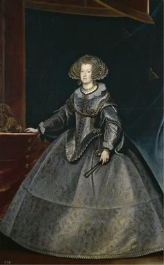 Maria of Austria, Queen of Hungary (1635) by Frans Luycks.