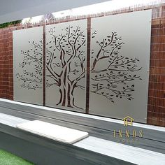 Details about Tree of Life Triptych - DIY Decorative Screens Indoor / Outdoor Garden Wall Art Wall Art outdoor wall art Indoor Outdoor, Outdoor Wall Art, Outdoor Walls, Outdoor Screens, Outdoor Living, Outdoor Decorative Screens, Outdoor Wall Decorations, Outdoor Shelves, Tor Design