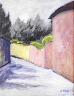 Ottone Rosai 1895-1957 | Italian Futurist painter