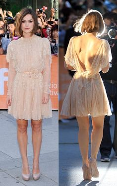 "Keira Knightley in Elie Saab Couture @ ""A Dangerous Method"" Premiere, Toronto Film Festival"