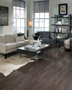 Somerset Floor - modern - wood flooring - san francisco - by CheaperFloors. Charcoal