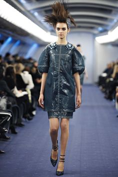 Chanel Spring 2012 Couture Fashion Show - Magda Laguinge