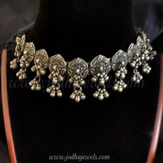 Choker Tarini Antique Rings, Antique Jewelry, Silver Jewelry, Silver Choker, Indian Jewelry, Chokers, Bangles, Diamond, Antiques