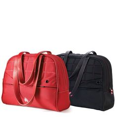 In need of a laptop briefcase...liking the black w/ pink stiching