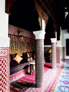 Americans clearly know nothing about tile. The Royal Mansour Hotel in Marrakech.