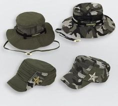 ba0f2eec693 Free Army Brand Unisex Baseball Hats Caps Mens Snapback Camouflage Hats  Wide Brim Bucket Hats For