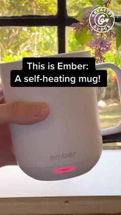 We love the Ember smart mug! It keeps our coffee at the perfect temp all morning long. 🙌