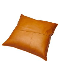 Features:Pillows and CushionsColour: Tan NaturalMade from: Premium cow hide and CanvasLeather front panel and canvas back panelYKK zip closure at backCut and sew leather panelling on frontEmbossed branding on frontCushion insert not includedSize + Fit Guide:Dimensions: 45 x 45cm