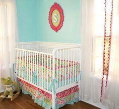 Kumari Garden Crib set  As seen on PROJECT NURSERY by LottieDaBaby, $425.00