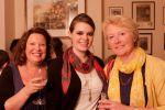 Judith Watts, Maggie Eckel and Alison Baverstock at BookMachine drinks