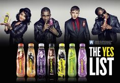 Fans of artists including Tinie Tempah, Plan B and Calvin Harris will be able to access exclusive content via augmented-reality (AR) features on limited-edition Lucozade bottles from today November). Lucozade, Tinie Tempah, 22 November, Calvin Harris, Bottle Design, Augmented Reality, New Media, Music Artists, Campaign