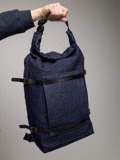 85e5544c3d9e U-tility Backpack Denim (Free Worldwide Delivery) Denim Backpack