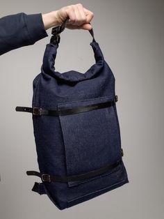 U-tility Backpack Denim (Free Worldwide Delivery)