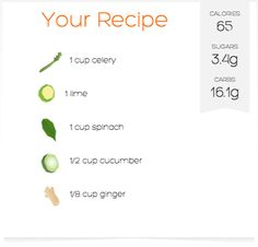 Make your own simply smarter juice recipes, or choose from our selection of recipes, and drink to your health.