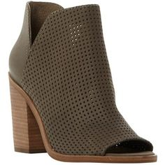 Steve Madden Women's Tala Ankle Bootie, Olive Nubuck, 10 M US