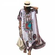 Kaftan Boho Beach Dress Price: 28.79 & FREE Shipping #hashtag3